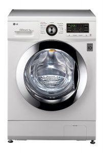 Silberner Waschtrockner